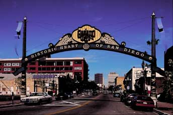 Gaslamp Sign